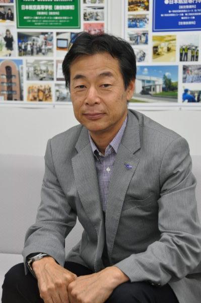 水野宏一 氏(公益財団法人日本航空教育協会 専務理事)