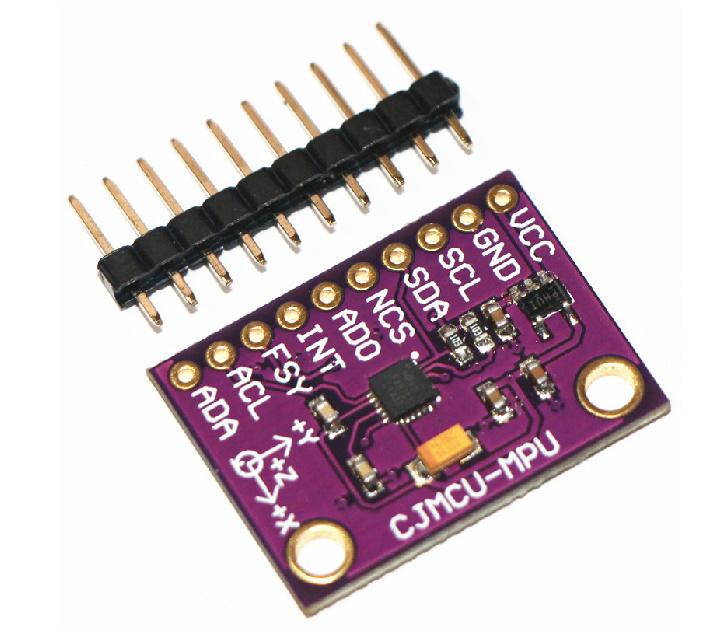 出典:http://www.aliexpress.com/item/Free-Shipping-CJMCU-116-MPU-6500-Module-Integrated-Gravity-6-axis-Gyro-Accelerator-Module-SPI-IIC/1547742508.html