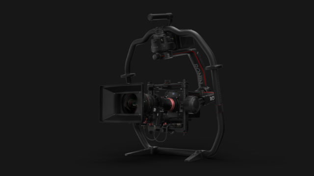 大型サイズのカメラも搭載可能なプラットフォーム