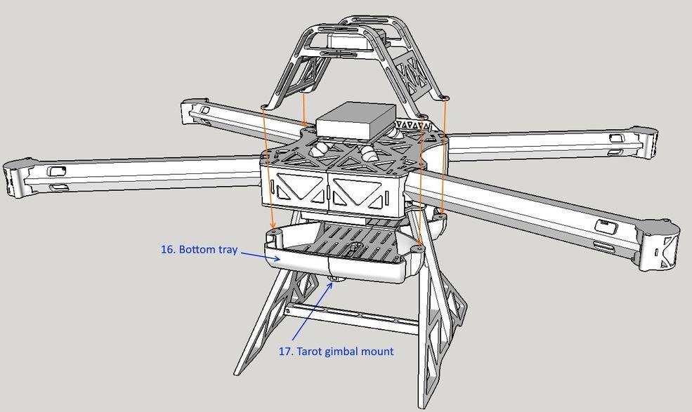 出典:http://3dprint.com/56190/tx8-octocopter-drone/