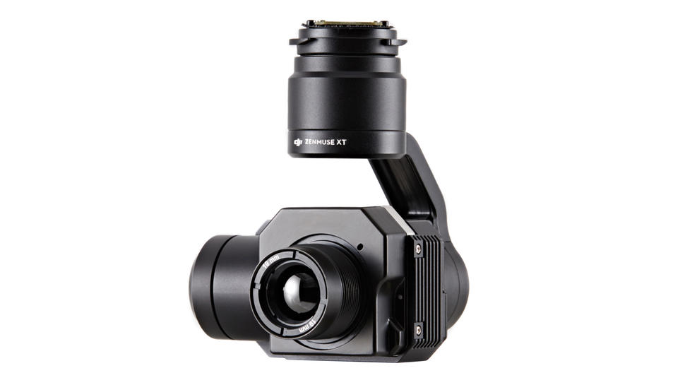 出典:http://www.cnet.com/news/dji-flir-bring-stable-thermal-imaging-to-the-skies-with-zenmuse-xt-camera/
